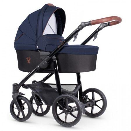 Venicci Gusto 2.0 Azzurro - Pushchair, Carrycot, Car Seat Bundle