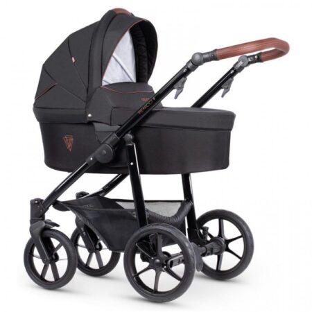 Venicci Gusto 2.0 Noir - Pushchair, Carrycot, Car Seat Bundle