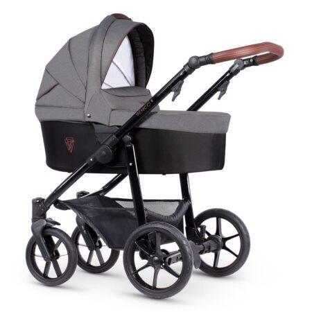 Venicci Gusto 2.0 Grafite - Pushchair, Carrycot, Car Seat Bundle