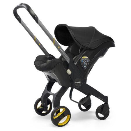Doona+ Infant Carrier Car Seat & Stroller - Nitro Black