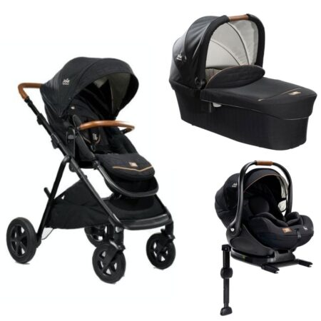 Joie Signature Edition Aeria Pushchair, Carrycot & I-Level System - Eclipse
