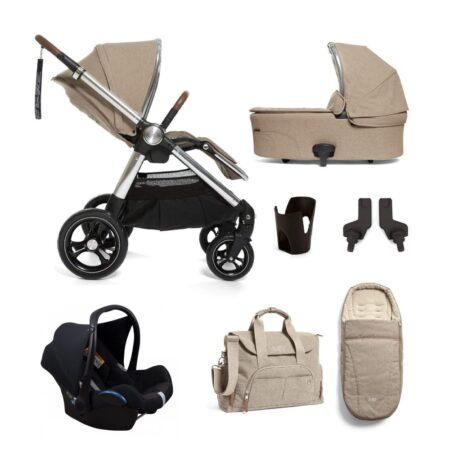 Mamas & Papas Ocarro 7 piece Kit with Maxi Cosi Car Seat - Cashmere