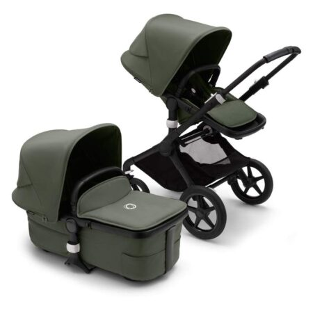 Bugaboo Fox 3 Complete Black / Forest Green