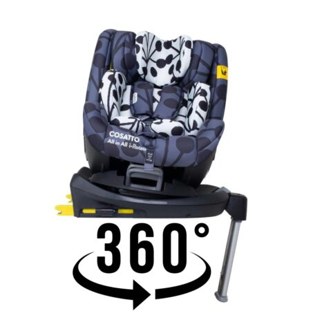 Cosatto All in All I-Rotate Lunaria Spin 360 Group 0+/1/2/3 I-Size Car Seat