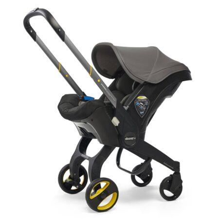 Doona+ Infant Carrier Car Seat & Stroller - Grey Hound