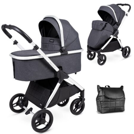 Venicci Insevio Dolphin 2 in 1 Pushchair & Carrycot - Moonlight