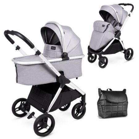 Venicci Insevio Dolphin 2 in 1 Pushchair & Carrycot - Wind Grey